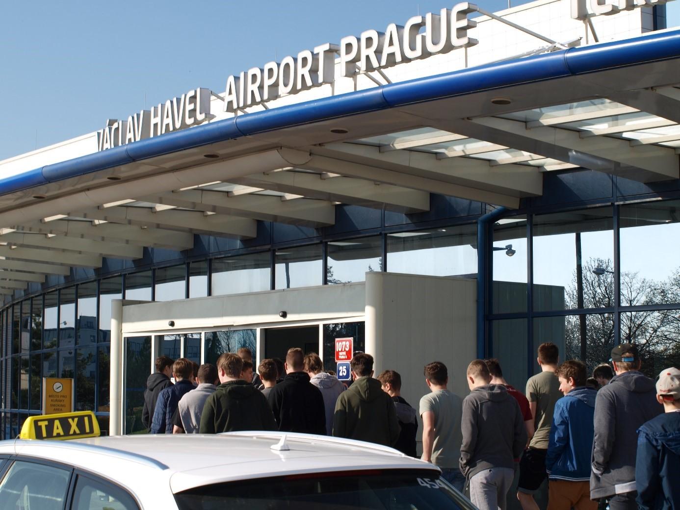 Exkurze na letiště Václava Havla