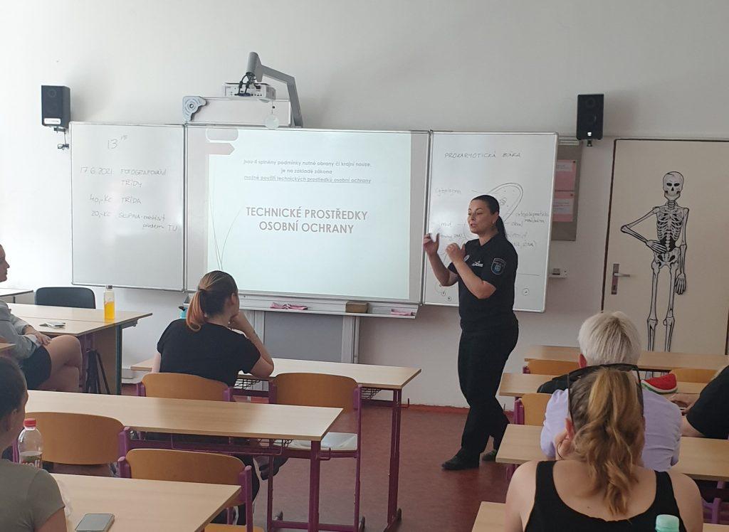 Přednášky Městské policie Most