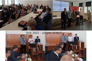 SVK 2021 projekt ROBOT